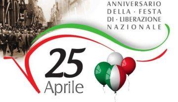 25 aprile 2018 - Anniversario della Liberazione d\'Italia