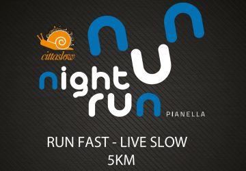 Sabato 21 aprile 2018: Night Run Pianella - Gara Podistica non competitiva